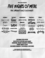 Five Nights of Metal Ad by FearOfTheBlackWolf