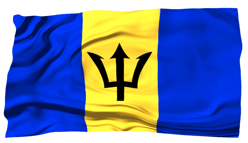 Flags Of The World Barbados By MrAngryDog On DeviantArt