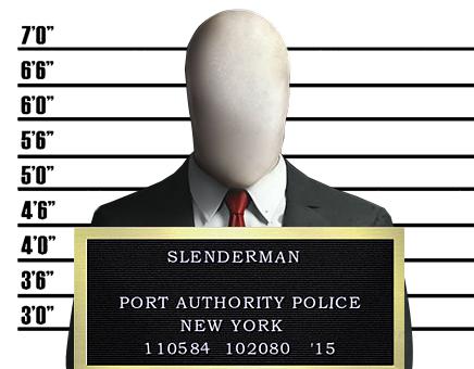 Creepypasta Mugshots: Slenderman by MrAngryDog