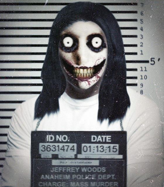 Creepypasta Mugshots: Jeff the Killer by MrAngryDog