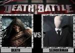 Death Battles: Death Vs. Slenderman