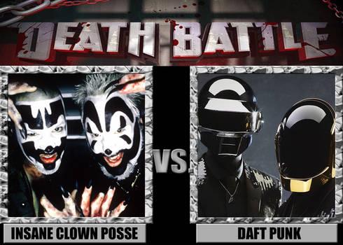 Death Battles: Insane Clown Posse Vs. Daft Punk
