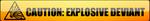 Explosive Deviant Button by FearOfTheBlackWolf