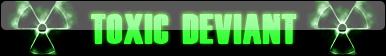 Toxic Deviant Button by MrAngryDog