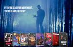 Custom Nightmare On Elm Street Retro DVDs