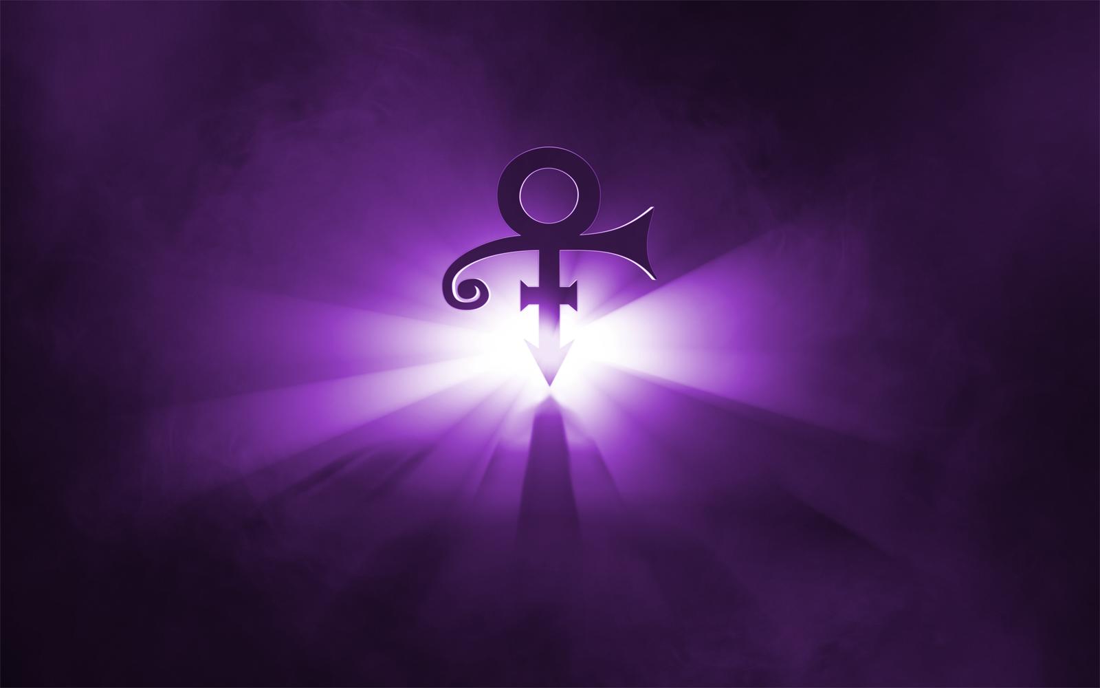 prince glowing symbol wallpaper by fearoftheblackwolf on