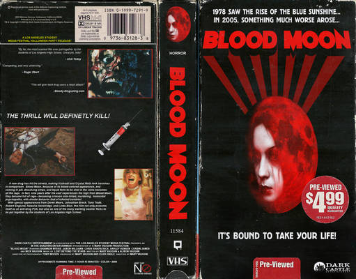 ''Blood Moon'' VHS Cover
