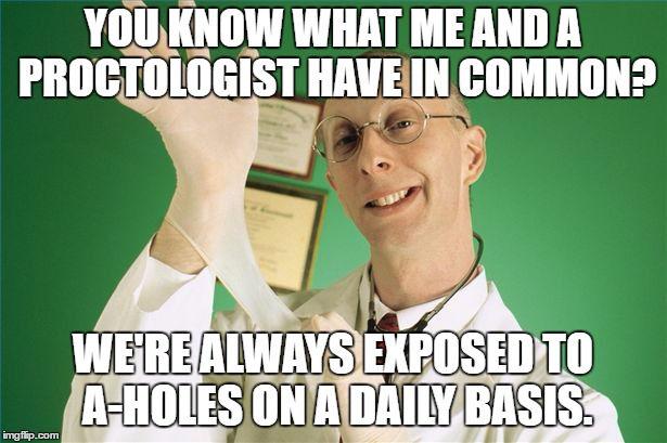 eSults: Proctologist by FearOfTheBlackWolf on DeviantArt