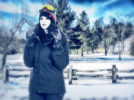 Jane w axe digital painting by fearoftheblackwolf on - When is it too cold to paint ...