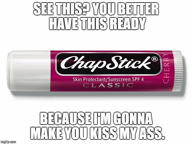 eSults: Chapstick by MrAngryDog
