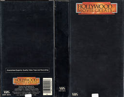 Hollywood Greats VHS Cover Template (HD Quality) by FearOfTheBlackWolf