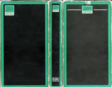deviantART Home Video Custom VHS Cover Template by FearOfTheBlackWolf