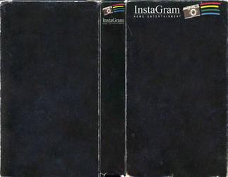 Instagram Home Entertainment Custom VHS Template by FearOfTheBlackWolf