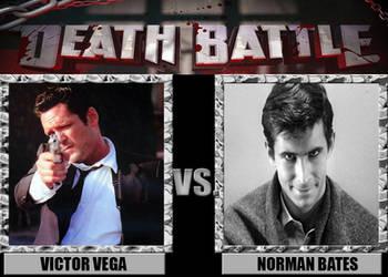 Death Battles: Victor Vega Vs. Norman Bates by FearOfTheBlackWolf