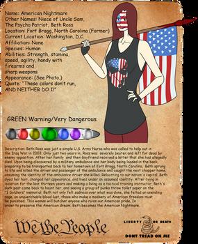 American Nightmare Creepypasta Journal Entry