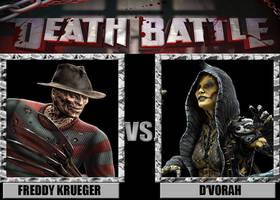 Death Battles: Freddy Krueger Vs. D'Vorah
