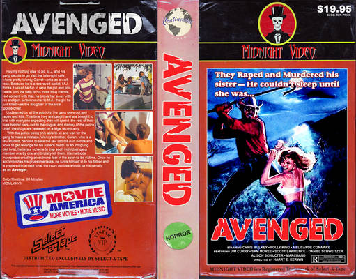''Avenged'' (1977) VHS Scan (Redone)