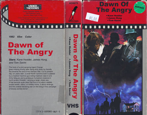''Dawn of the Angry'' VHS Cover