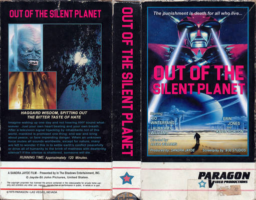 ''Out Of The Silent Planet'' Custom VHS  Cover