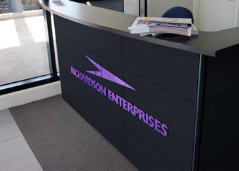 Richardson Enterprises Reception Area