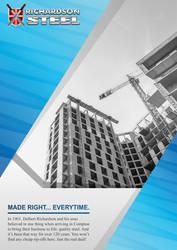 Richardson Steel Advert
