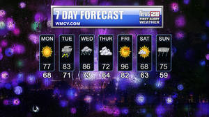 Your 7 Day Forecast...