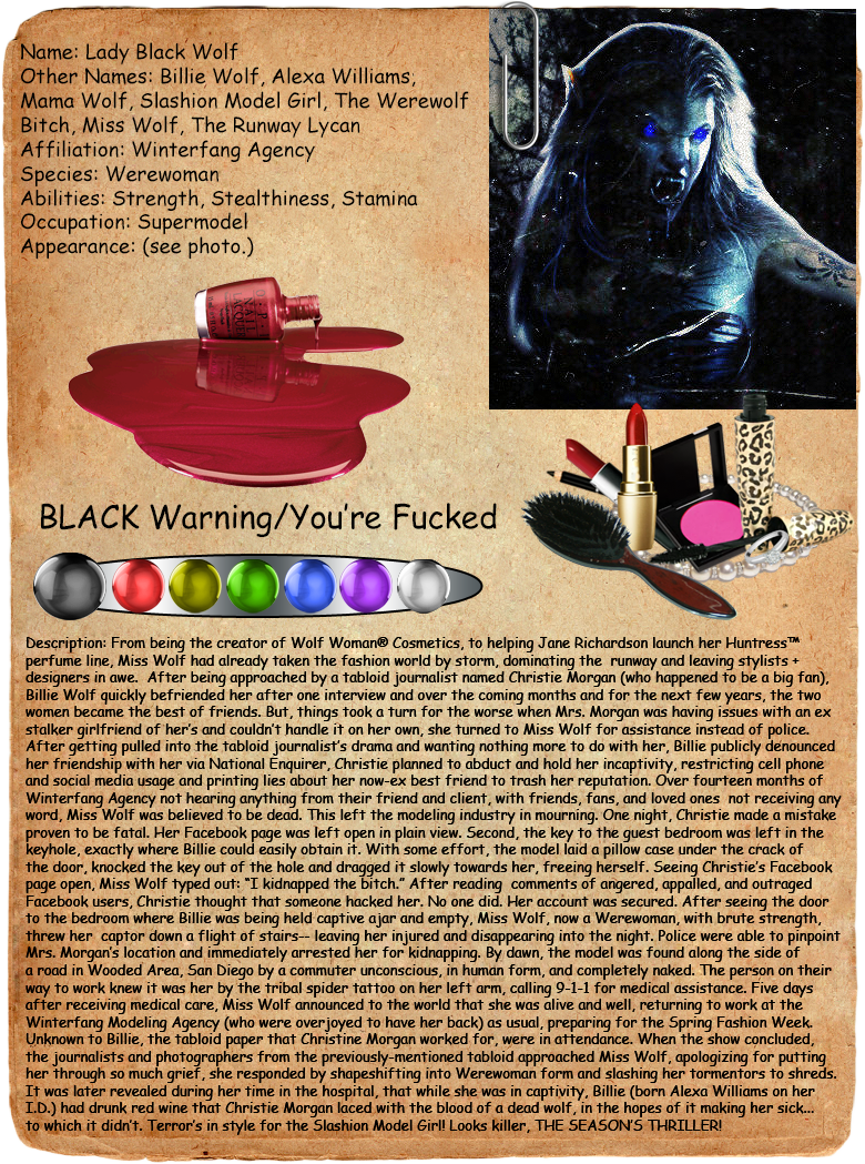 Lady Black Wolf Creepypasta Journal Entry