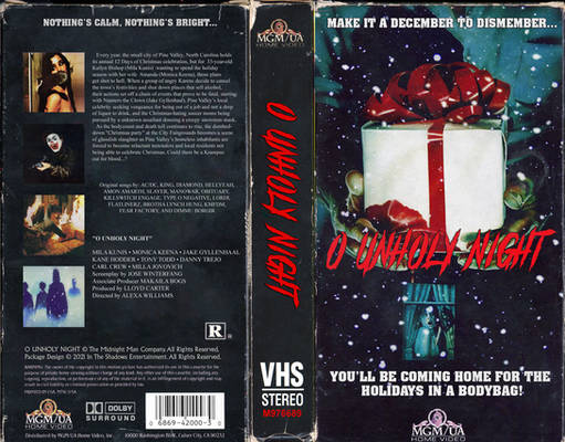 ''O Unholy Night'' VHS Cover