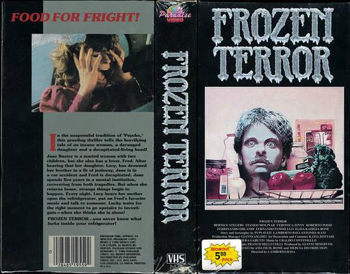 Frozen Terror (Macabre) VHS Cover