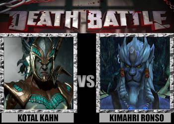 Death Battles: Kotal Kahn Vs Kimahri Ronso
