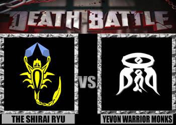 Death Battles: The Shirai Ryu Vs. Yevon Monks