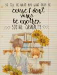 Social casualty (Tonari No Kaibutsu Kun)