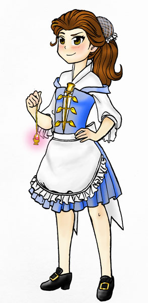Puella Magi Belle by HollyRoseBriar