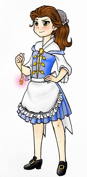 Puella Magi Belle by HollyRoseBriar