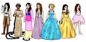 Ouat princess lineup