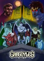 Gargoyles Poster by HollyRoseBriar