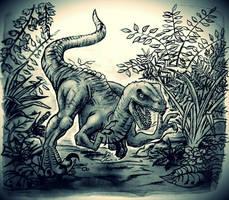 Velociraptor  by HollyRoseBriar