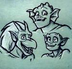 Trio doodle