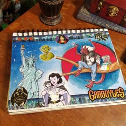 Gargoyles page by HollyRoseBriar