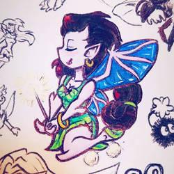 Fairy Angela by HollyRoseBriar