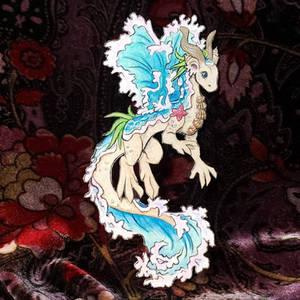 Smaugust 2021 Seashore dragon