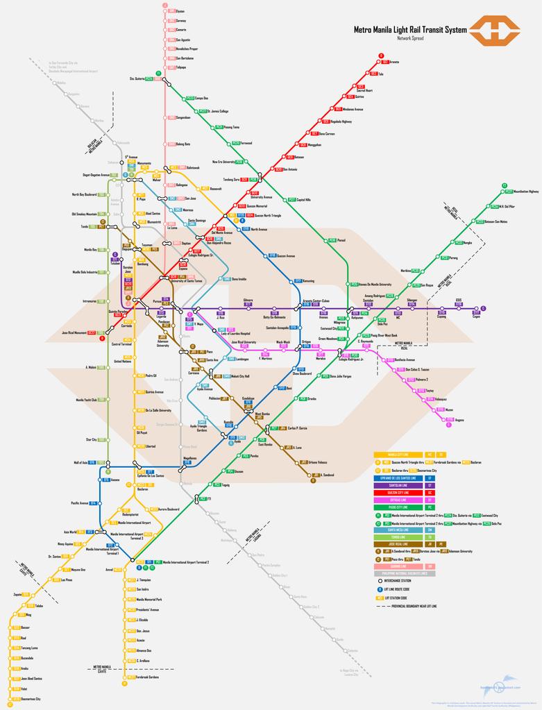 map of metro manila pdf