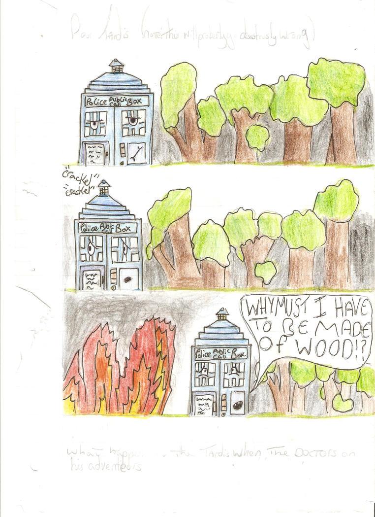TARDIS Comic by Holsmetree