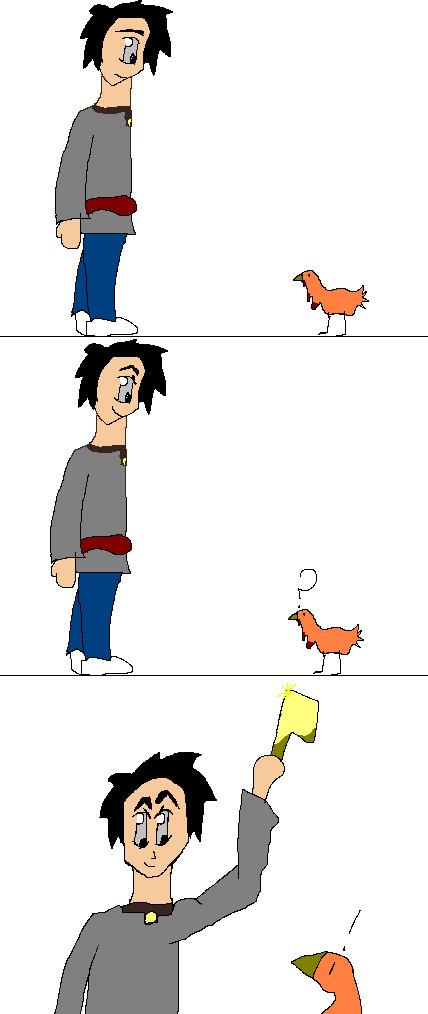 Poor poor turkey by Holsmetree