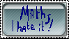 Maths - stamp by Holsmetree