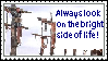 Bright side - stamp by Holsmetree