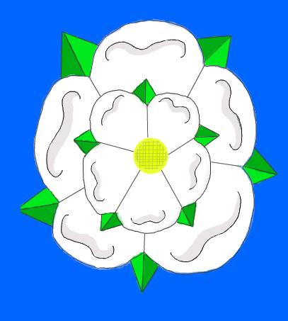 Yorkshire rose by Holsmetree