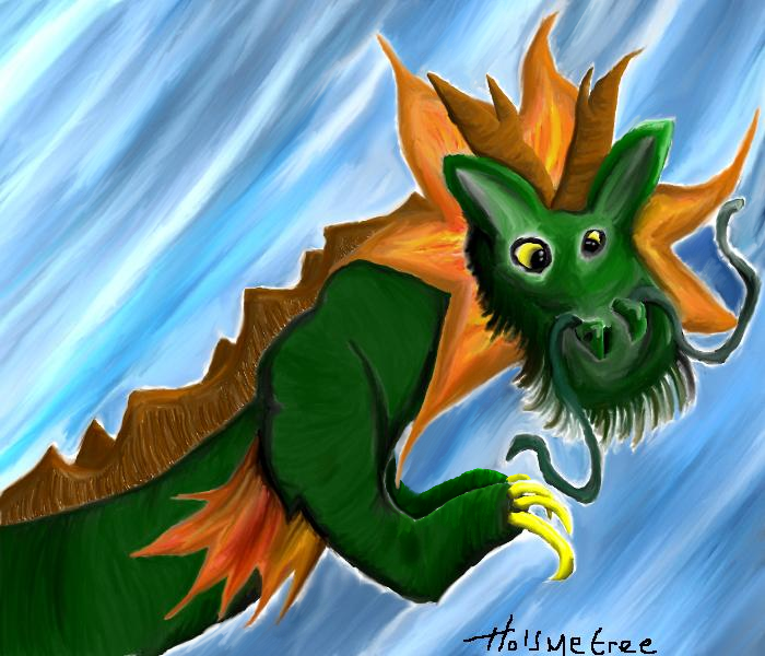 Chinese Dragon by Holsmetree