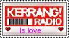 Kerrang radio - stamp by Holsmetree