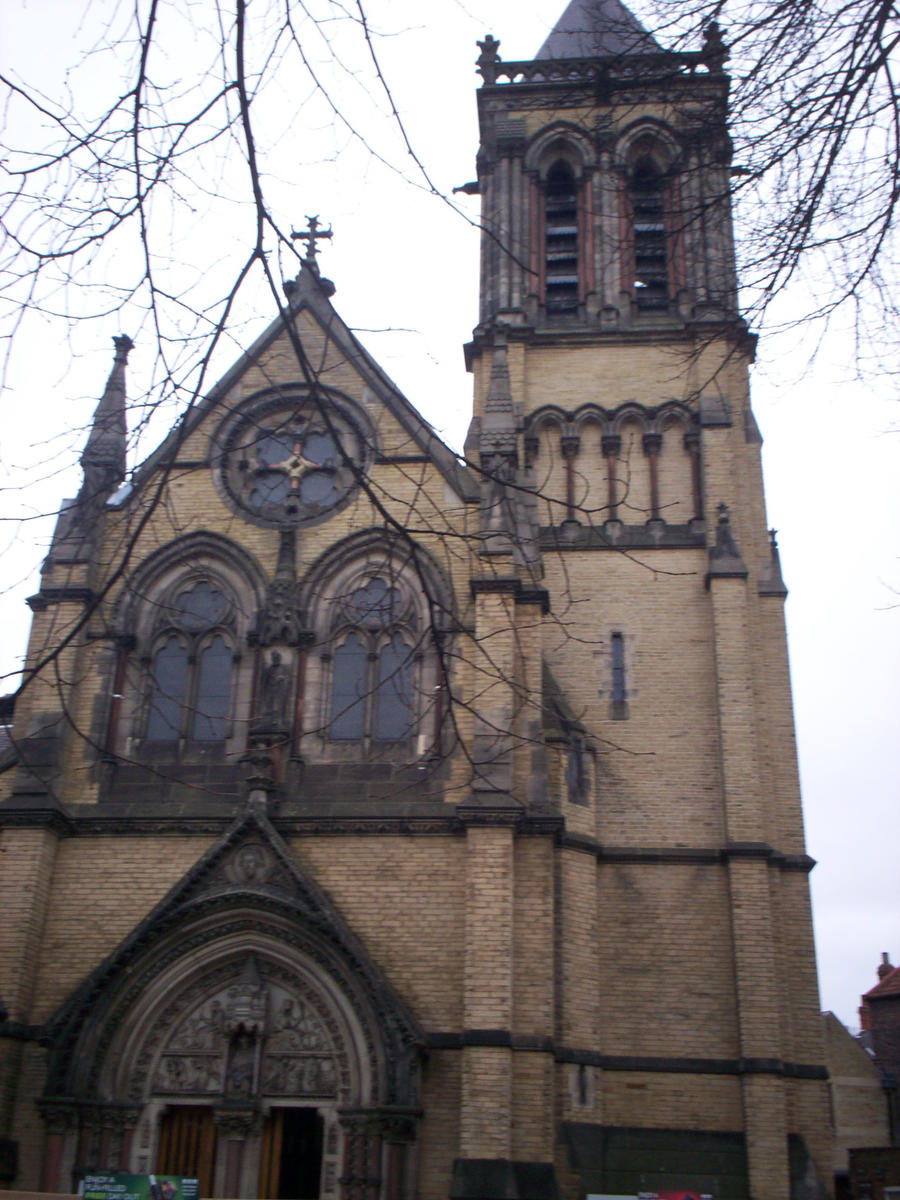 York church by Holsmetree